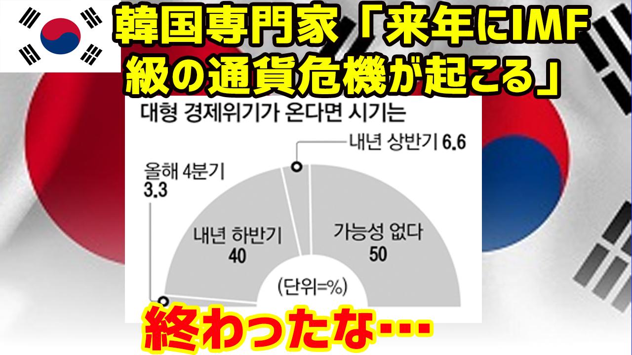 韓国 通貨 危機 2019 いつ